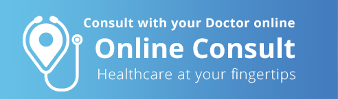 Consult with your Doctot online. Online consult. Healthcare at your fingertips